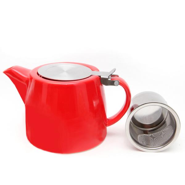 Filter Teapot Red