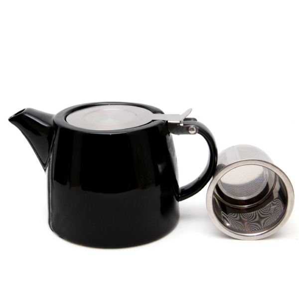 Filter Teapot Black