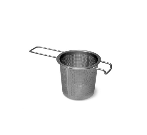 Strainer with a handle