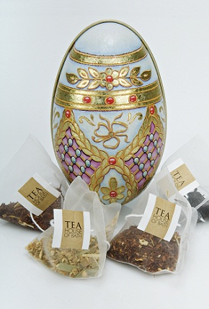 Easter Egg - Lemon and Ginger in a tin with other teas.