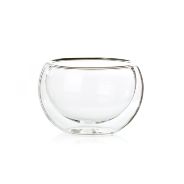 Tea Bowl Double Walled Glass