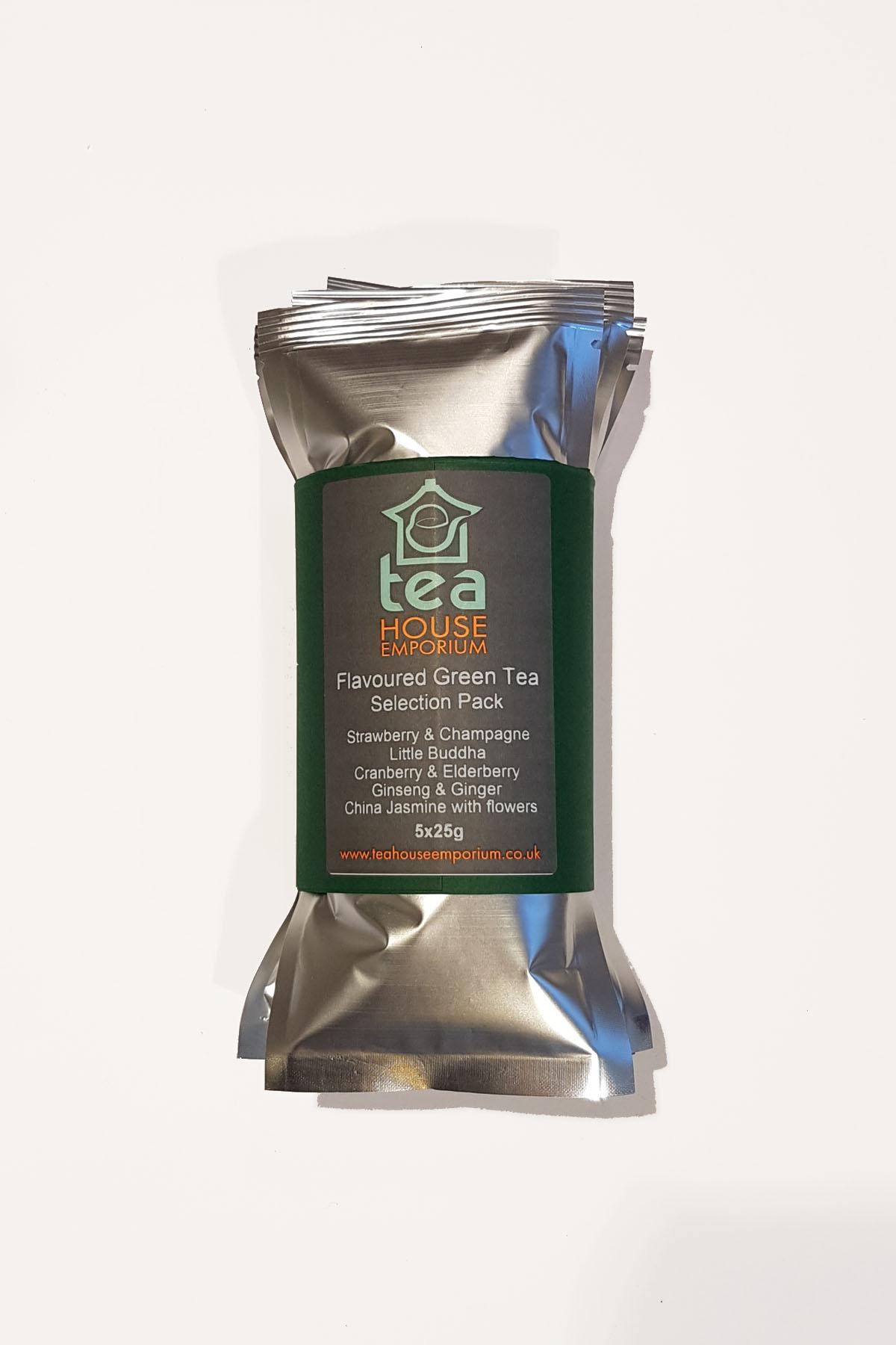 Flavoured Green Tea Selection Pack - Tea House Emporium