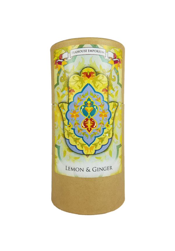 Gift Tube Lemon and Ginger