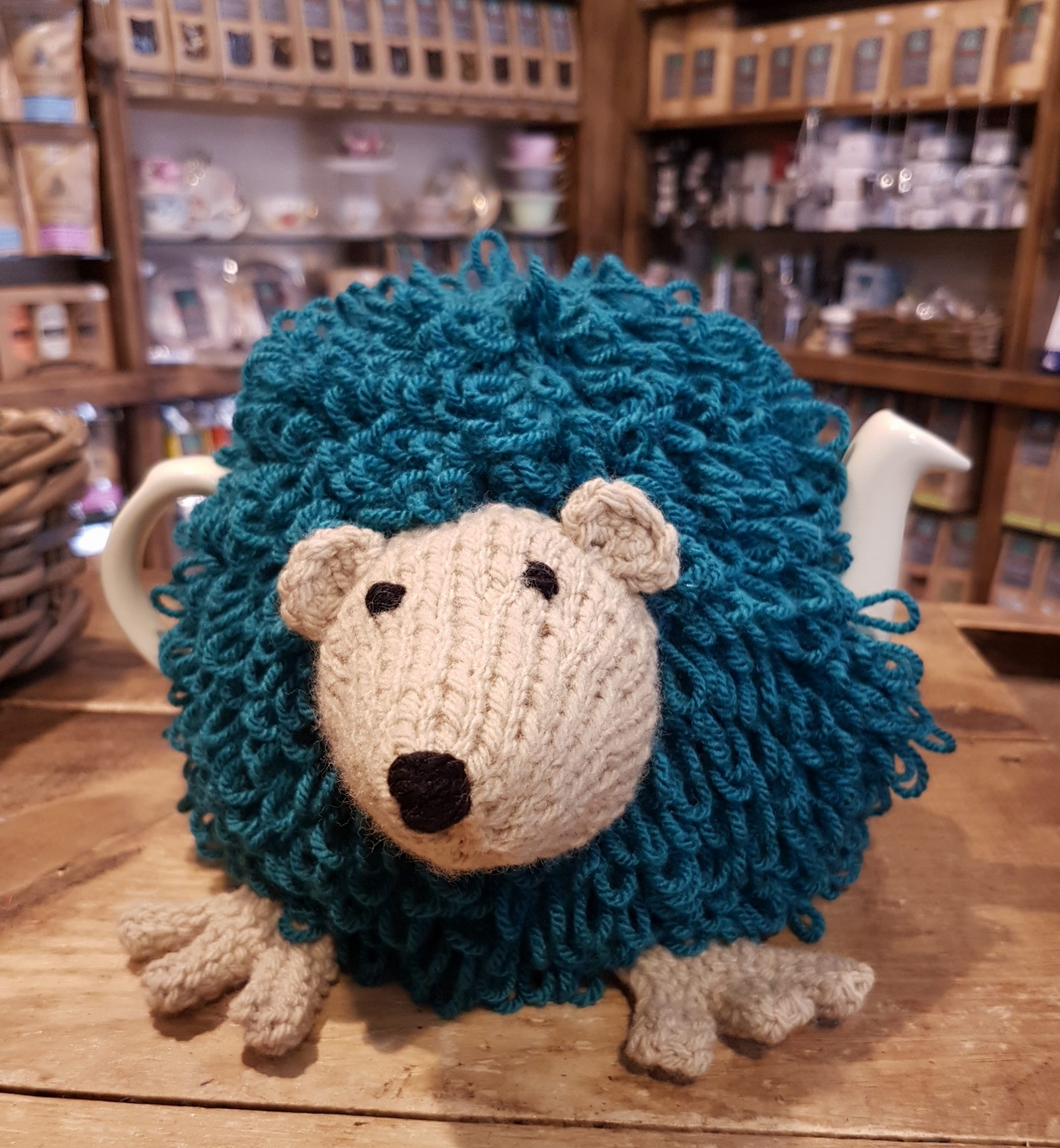 hedgehog tea cosy