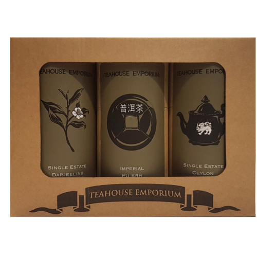 Black and Dark Loose Leaf Tea Gift Box