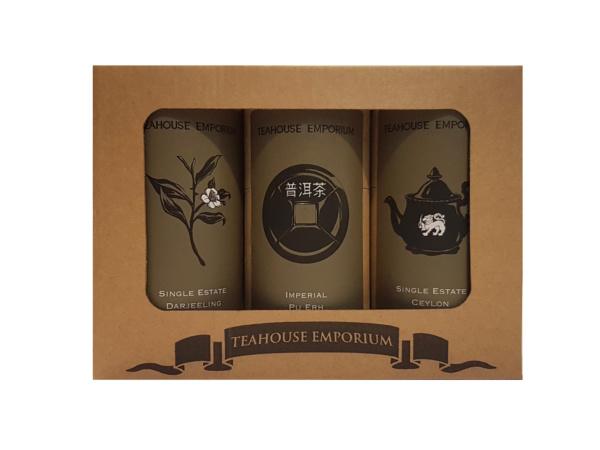 Black and Dark Loose Leaf Tea Gift Box