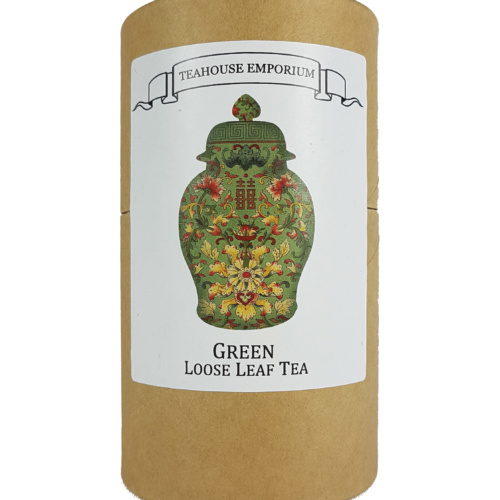 Loose Leaf Green Tea Gift Tube