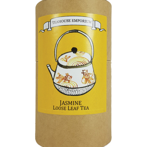 Loose Leaf Jasmine Tea Gift Tube