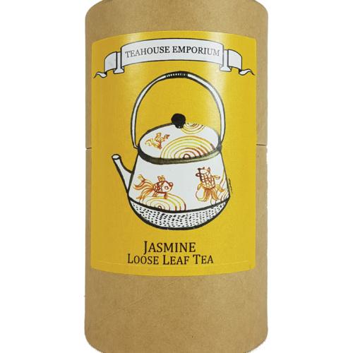 Loose Leaf Jasmine Tea Gift Tube