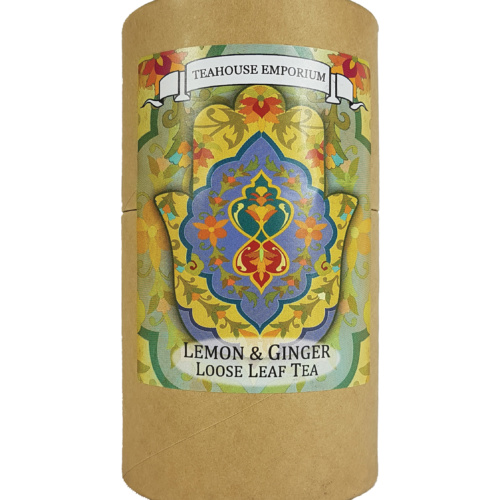 Loose Leaf Lemon and Ginger Gift Tube