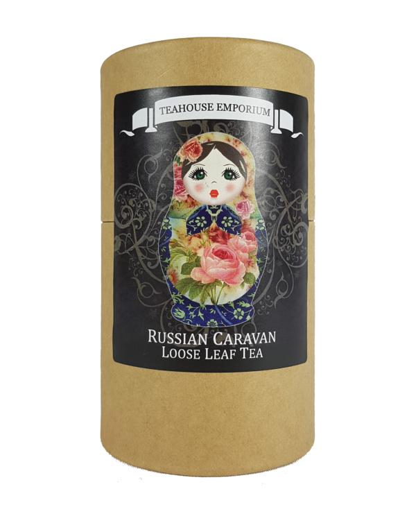 Loose Leaf Russian Caravan Tea Gift Tube