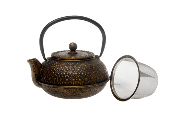 Cast Iron Teapot Gold 0.6L