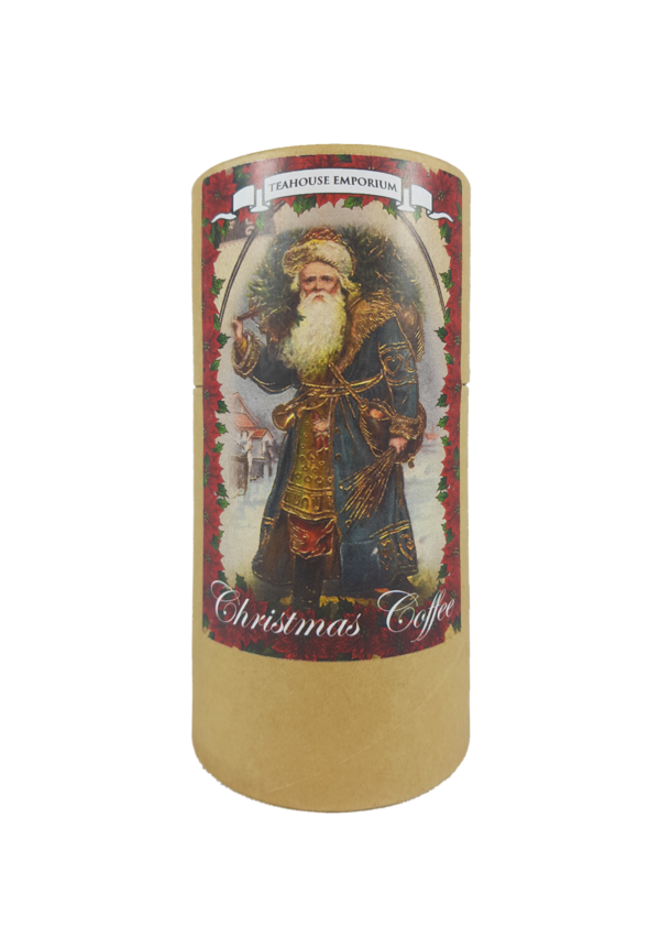 Gift Tube Christmas Coffee