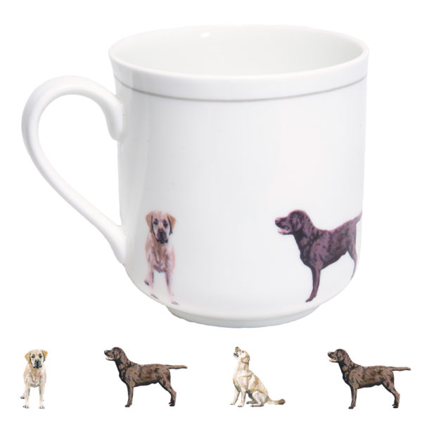 Labrador Retriever Bone China Mug