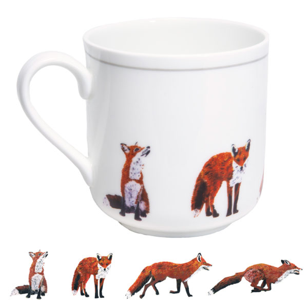Fox Bone China Mug