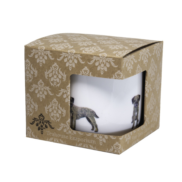Border Terrier Bone China Mug in gift box