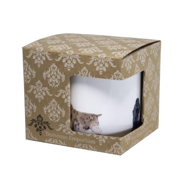 Cocker Spaniels Bone China Mug in gift box