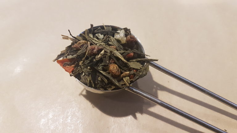 Sea buckthorn loose leaf green tea