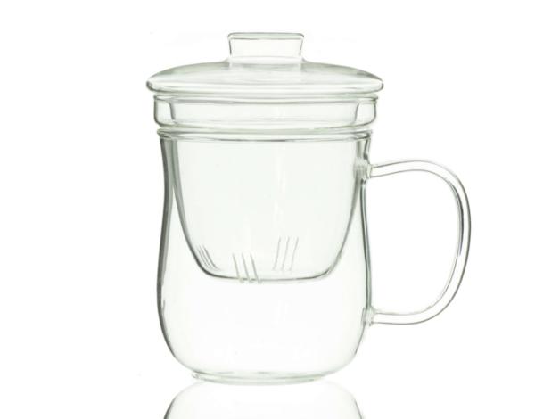 Glass Infuser Mug
