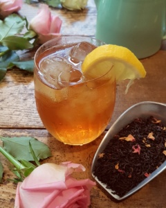 Rose Earl Gre Iced Tea