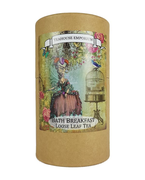 Loose Leaf Bath Breakfast Gift Tube