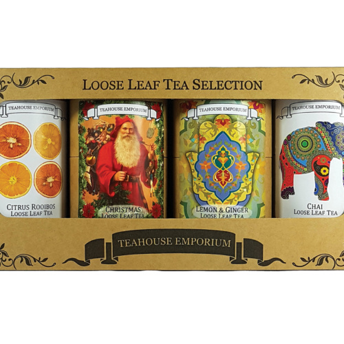 Loose Leaf Christmas Gift Box