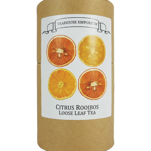 Loose Leaf Citrus Rooibos Gift Tube