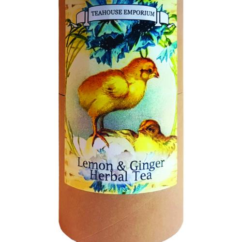 Easter Lemon and Ginger Loose Leaf Gift Tube