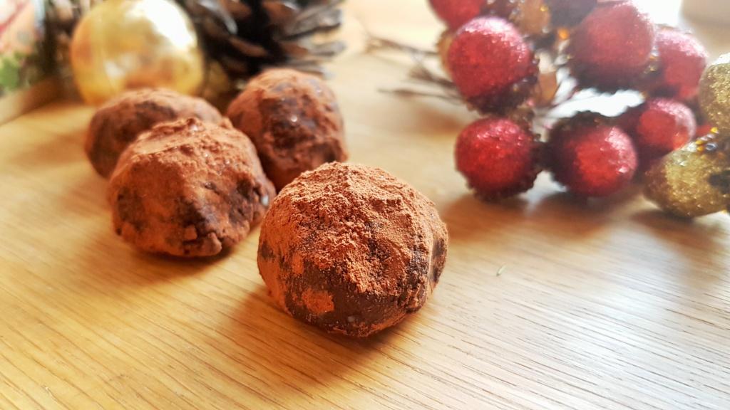 Easy Vegan Christmas Tea Chocolate Truffles!