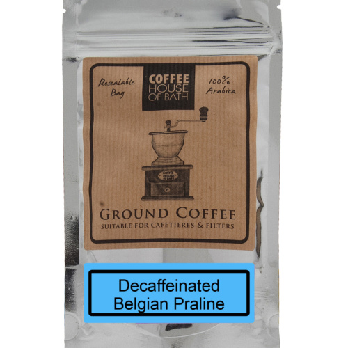 Decaffeinated Belgian Praline Coffee Bag