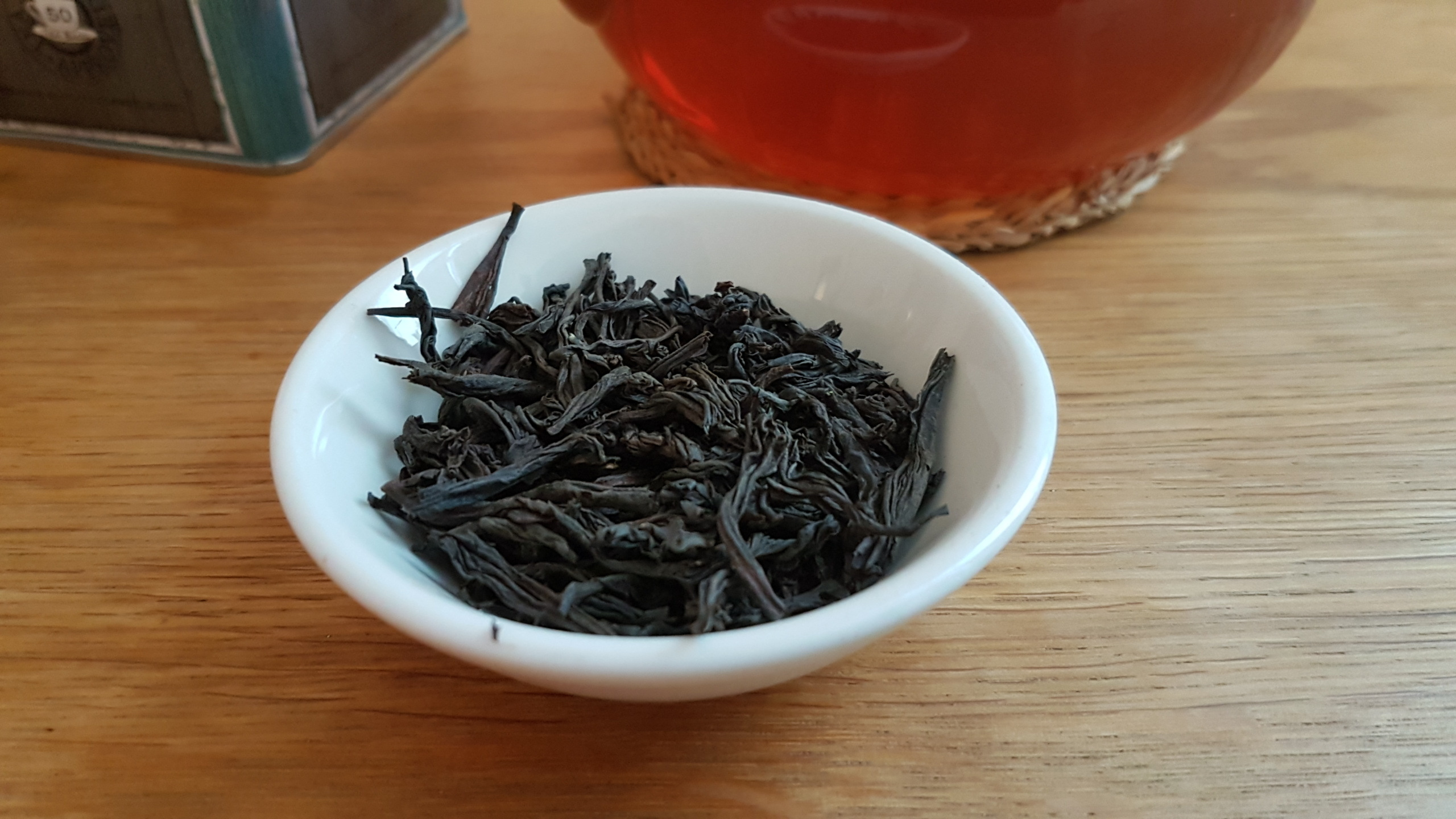 Close up of Ceylon Orange Pekeo tea